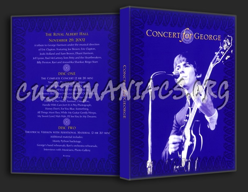 Concert For George Dvd : concert for george dvd cover dvd covers labels by customaniacs id 169672 free download ~ Russianpoet.info Haus und Dekorationen