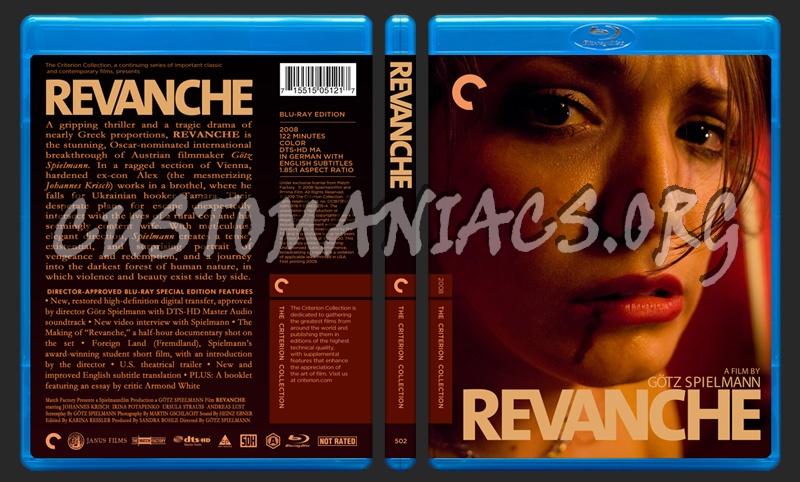 502 - Revanche blu-ray cover