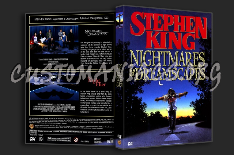 Nightmares & Dreamscapes dvd cover