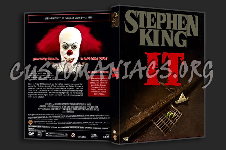 IT Stephen King dvd cover