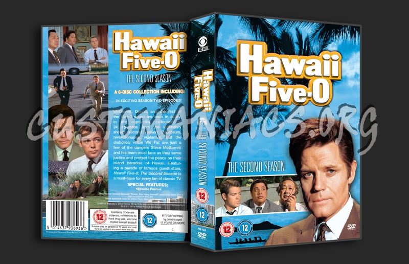 Hawaii Five-O Season 2 dvd cover - DVD Covers & Labels by