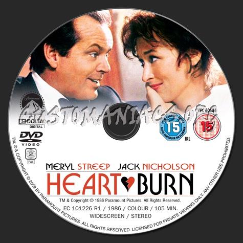 Heartburn dvd label
