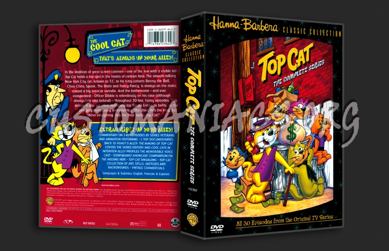 Top Cat The Complete Series dvd cover - DVD Covers & Labels