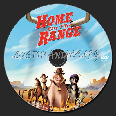 home on the range dvd label dvd covers labels by customaniacs id 169886 free download. Black Bedroom Furniture Sets. Home Design Ideas