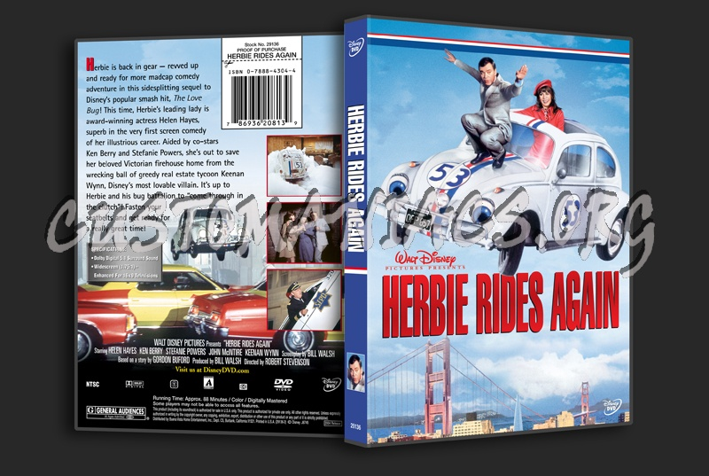 Herbie Rides Again dvd cover - DVD Covers & Labels by ...