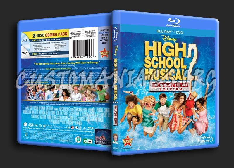 High School Musical 2 blu-ray cover