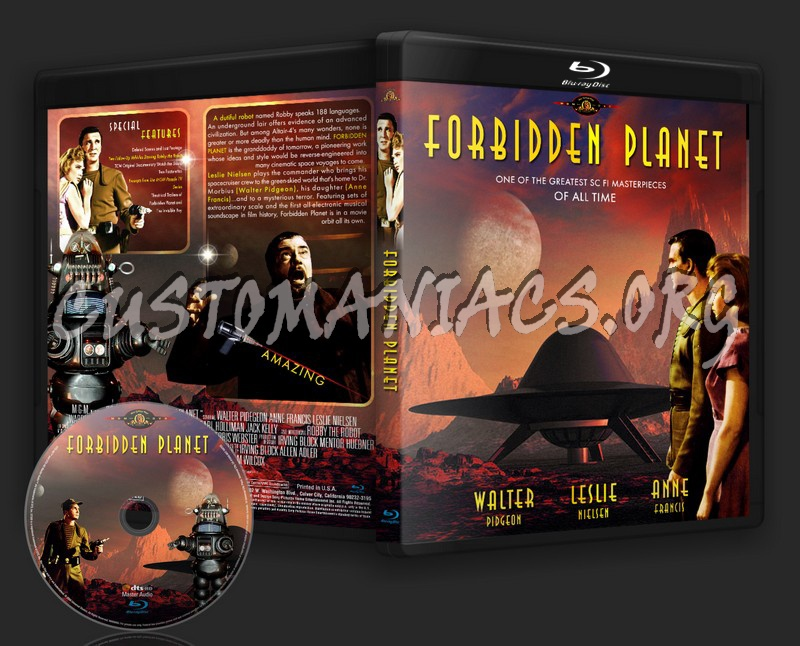 Forbidden Planet blu-ray cover