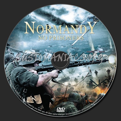 Normandy (aka Red Rose Of Normandy) dvd label
