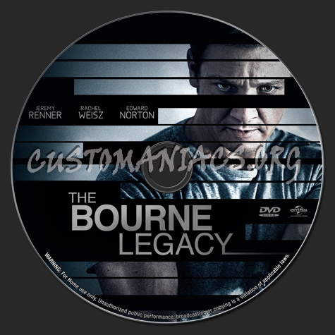 The Bourne Legacy dvd label