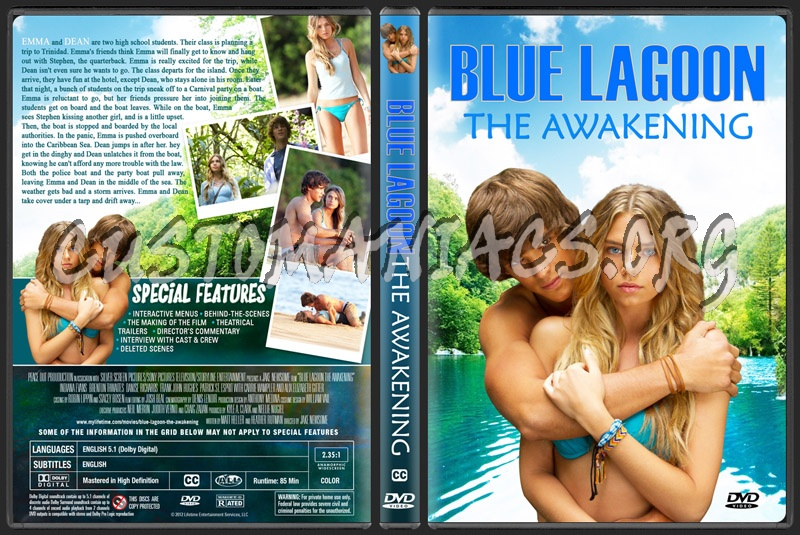 Blue Lagoon The Awakening Dvd Cover Dvd Covers Labels By