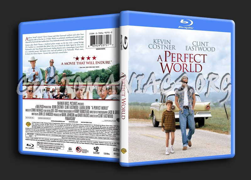 A Perfect World blu-ray cover
