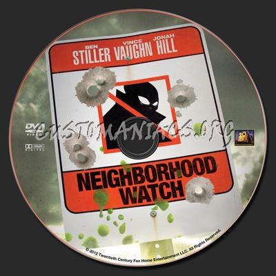 Neighborhood Watch dvd label
