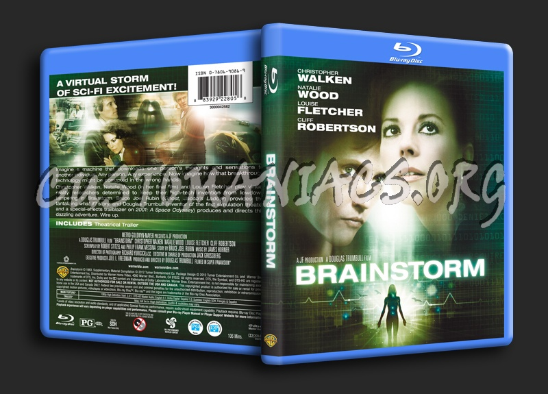 Brainstorm blu-ray cover