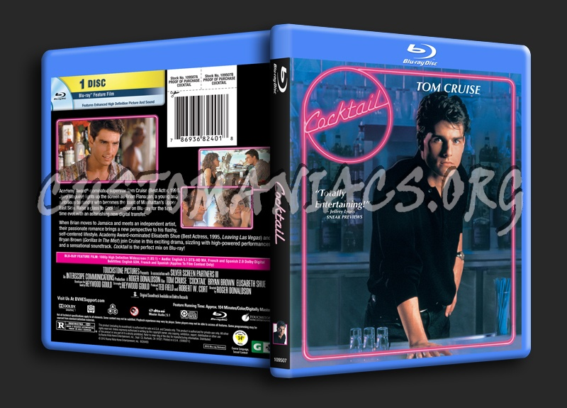 Cocktail blu-ray cover