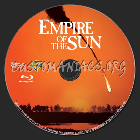 Empire of the Sun blu-ray label