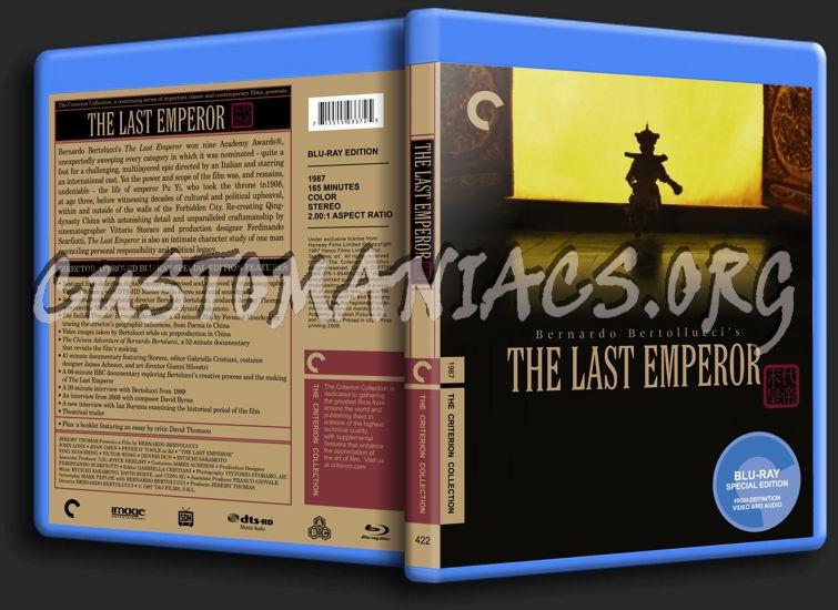 422 - The Last Emperor blu-ray cover