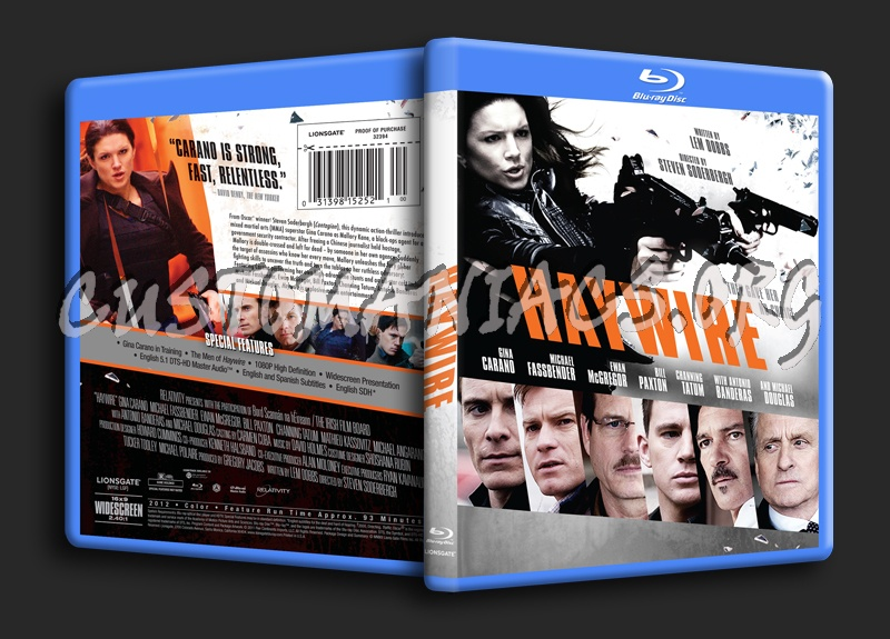 Haywire blu-ray cover