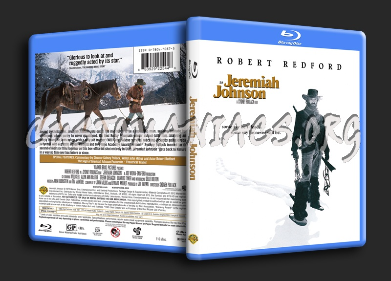 Jeremiah Johnson blu-ray cover