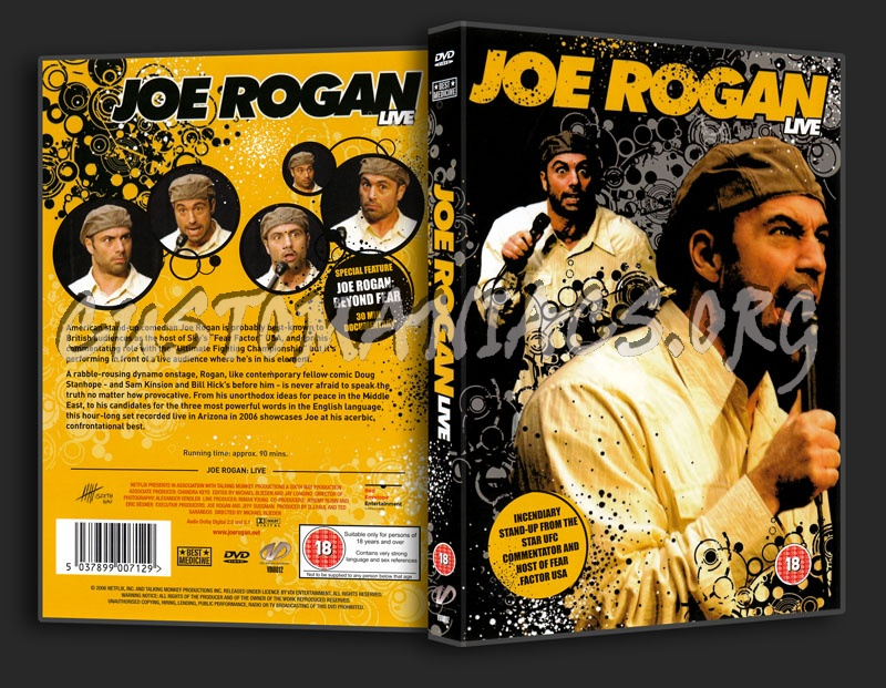 Joe Rogan Live dvd cover