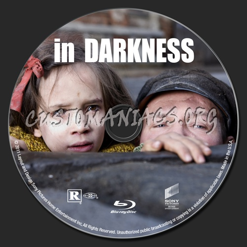 In Darkness blu-ray label