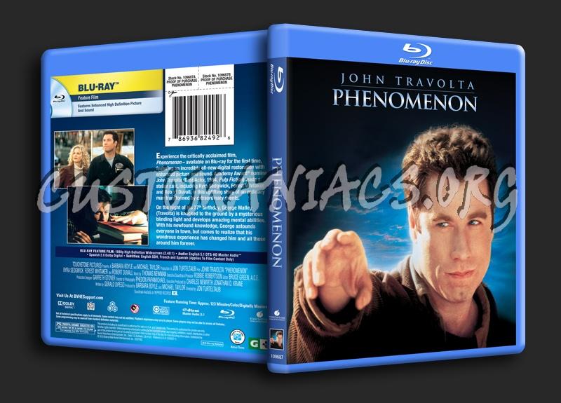 Phenomenon blu-ray cover