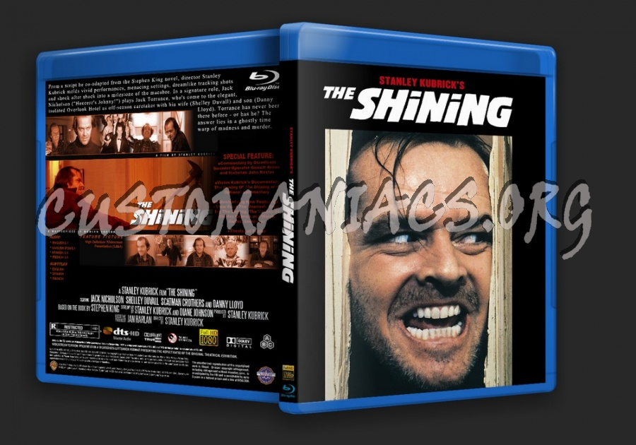 The Shining blu-ray cover