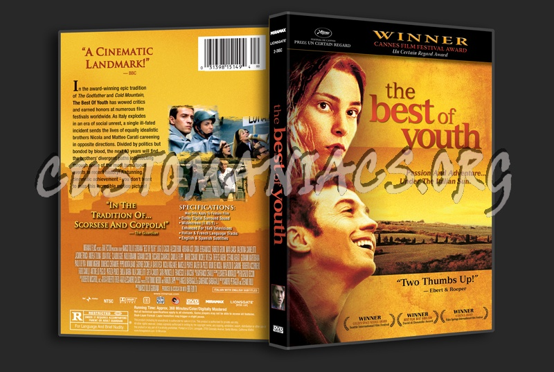 The Best of Youth dvd cover