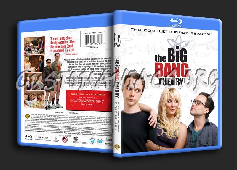 The Big Bang Theory Season 1 blu-ray cover