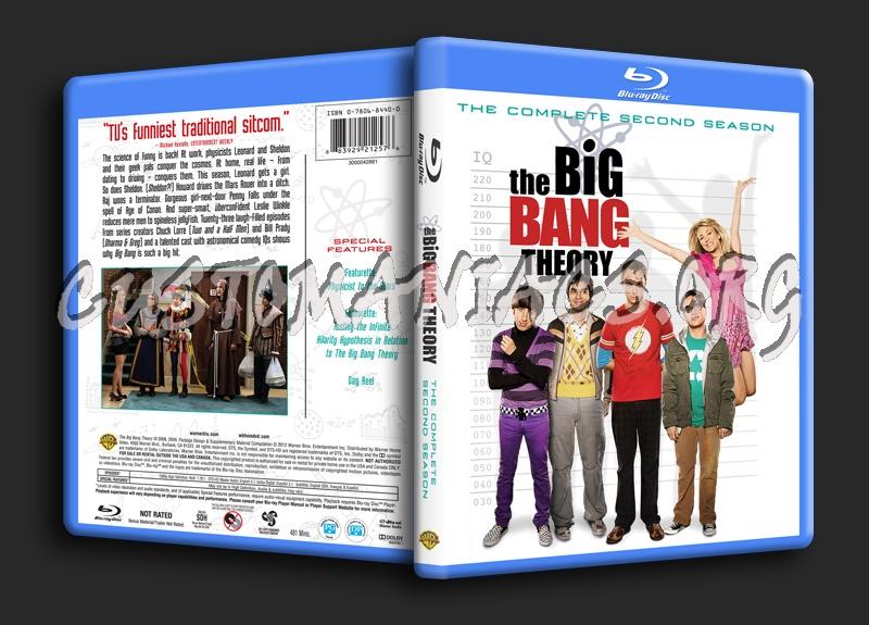 The Big Bang Theory Season 2 blu-ray cover