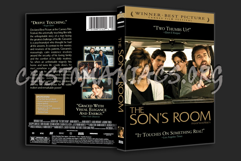 The Son's Room dvd cover