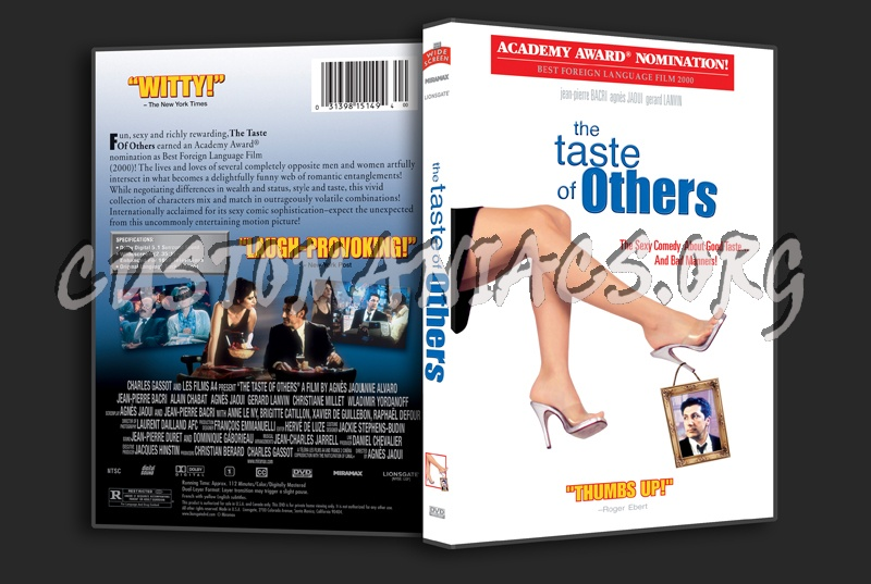 The Taste of Others dvd cover