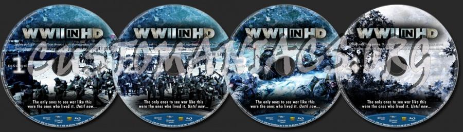 World War II In HD blu-ray label