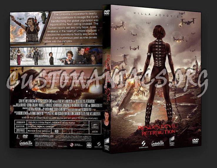 Resident Evil: Retribution dvd cover