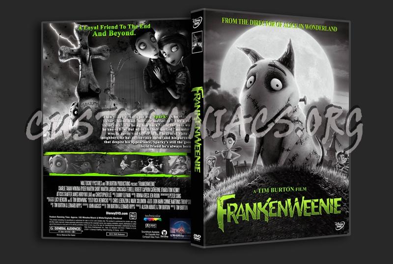 Frankenweenie dvd cover
