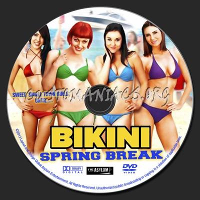 Bikini Spring Break dvd label