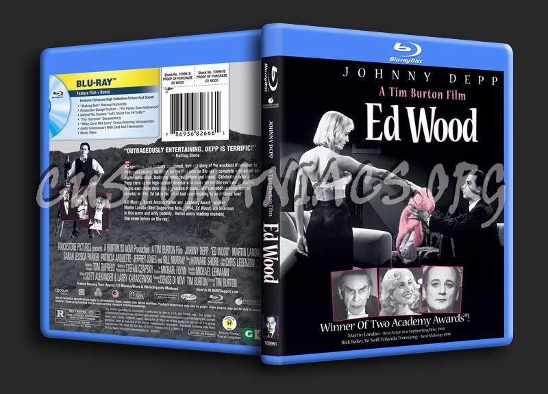 Ed Wood blu-ray cover