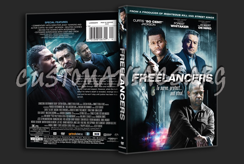 Freelancers dvd cover