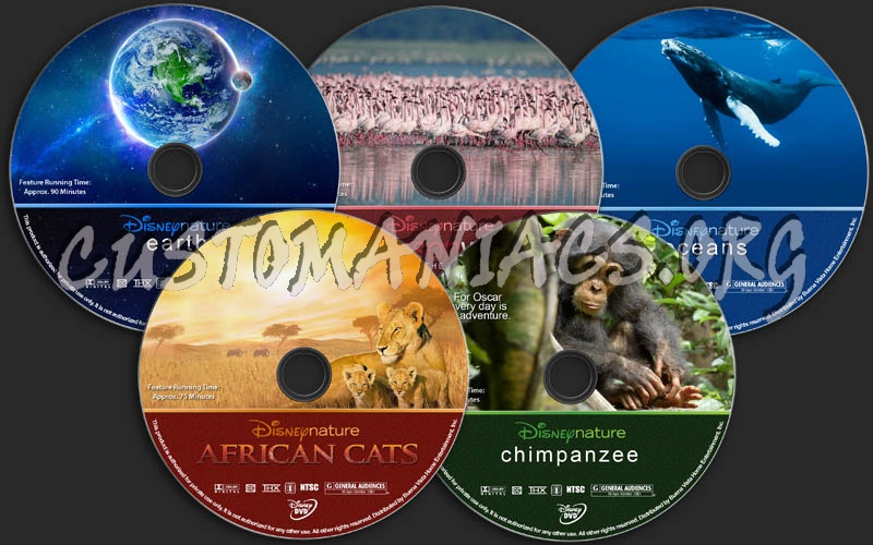 Disneynature Collection dvd label