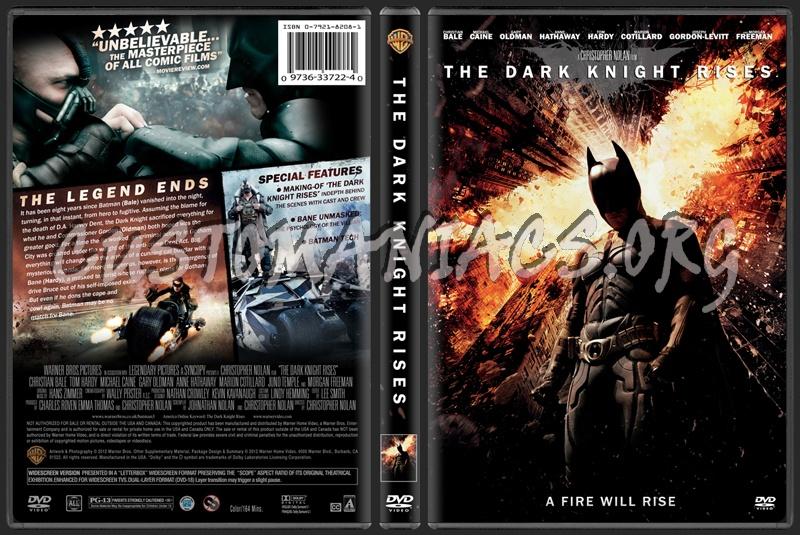 Dark Knight Rises Dvd Cover Dark Knight Rises 2012