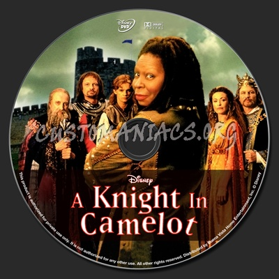 A Knight In Camelot dvd label