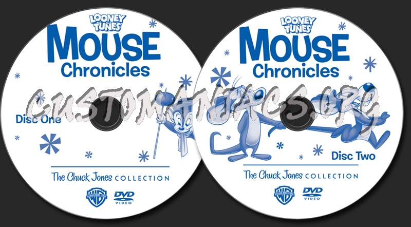 Looney Tunes Mouse Chronicles The Chuck Jones Collection dvd label