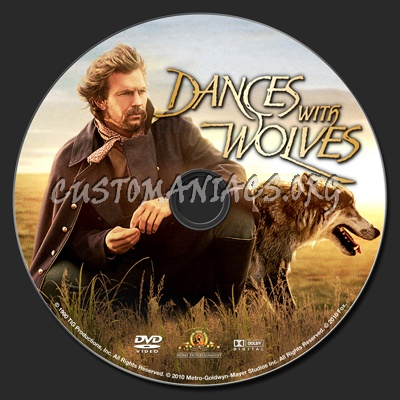 Dances With Wolves dvd label