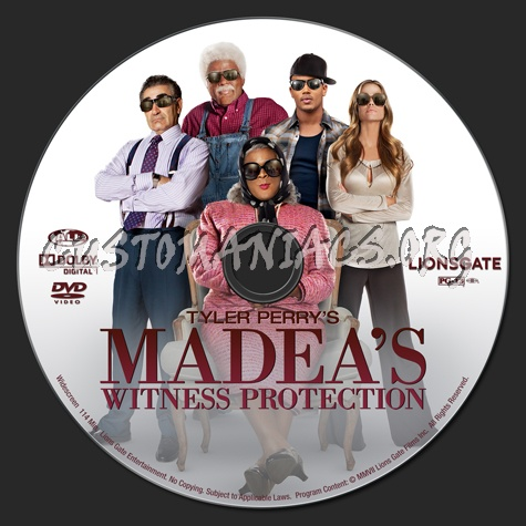 madeas witness protection dvd cover - photo #17