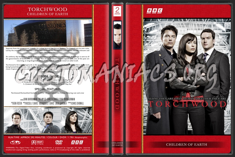 Torchwood The Complete Series dvd cover