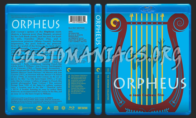 068 - Orpheus blu-ray cover