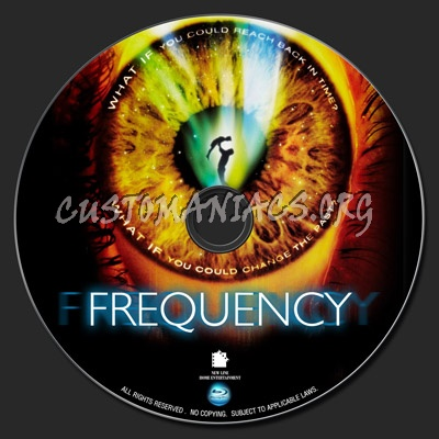 Frequency blu-ray label