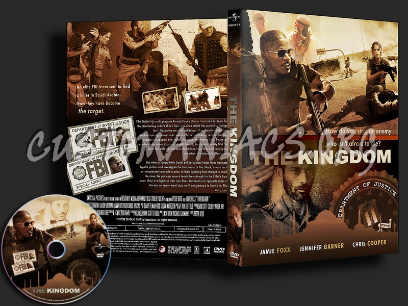 The Kingdom dvd cover