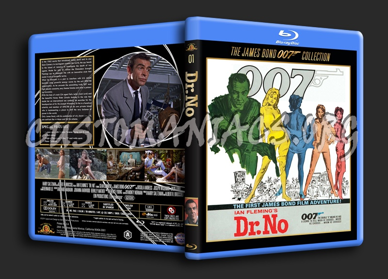 Dr. No blu-ray cover