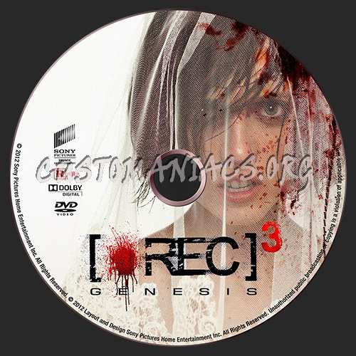 [Rec] 3 Genesis dvd label