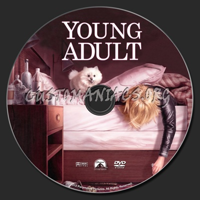 Young Adult dvd label. The